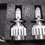ไฟหน้า LED ขั้ว H7 Cree 2 ดวง 20W