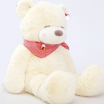 ตุ๊กตาหมีขาวหลับตา1.2เมตร