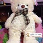 ตุ๊กตาหมีสีขาว80cm