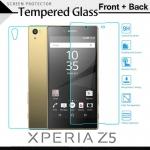 กระจกนิรภัย Xperia Z5 (หน้า-หลัง) Tempered Glass Screen Protector Protective