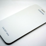Samsung Galaxy Maga 6.3 White Cover Case