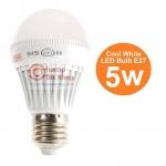 หลอดไฟ LED HOSHI E27 5W (CW) Day แสงสีขาว