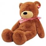 ตุ๊กตาหมีน้ำตาลเข้มหลับตา1.2เมตร