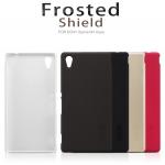 เคส Xperia M4 Aqua ของ Nillkin Super Frosted Shield Case +ฟิล์มกันรอย