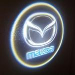 ไฟโลโก้ส่องพื้น Mazda