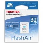 Toshiba FlashAir Wireless SD Card - Class 10 - 32 GB