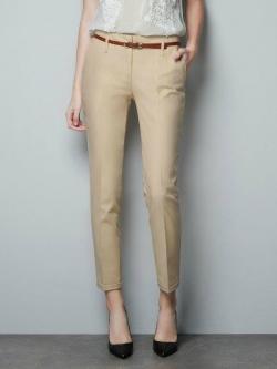 กางเกงทรงฮาเรมอีกแบบที่อยากแนะนำ ใส่ทำงาน ใส่ชิล สีน้ำตาล(Brown)