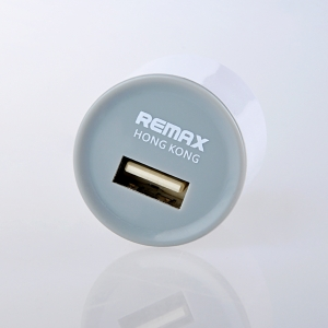 Remax Adapter USB Charger หัวกลม LST6048 - White ขาว