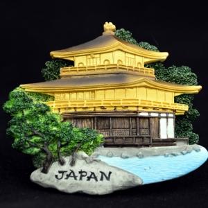 ญี่ปุ่น วัดทอง วัดคินคะคุจิ Japan kinkaku-ji temple