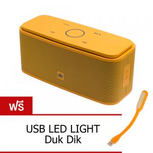ลำโพงบลูทูธ 金冠 Kingone F8 Bluetooth Speaker ลำโพงพกพาไร้สาย เบสแน่น - Orange สีส้ม