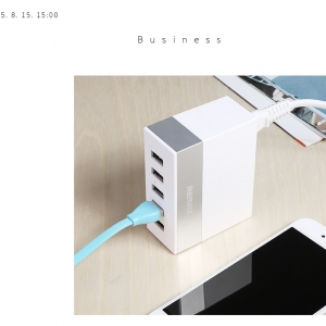 Remax USB Charger 5 USB Hub RU-U1 - White สีขาว