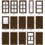 ประตู หน้าต่าง บานเฟี้ยม กระจกนิรภัย ไม้สักทอง ของดีเมืองแพร่ thumbnail 8