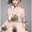 เสื้อทรงระบายตกแต่งด้วยดอกไม้ปักสุดหวาน thumbnail 1