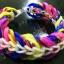 ยางถัก 100% ซิลิโคน Tie Die 3 Colors Loom Bands 600 เส้น ( T3C) thumbnail 5