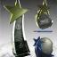 โล่รางวัล คริสตัลดาว 2D Laser thumbnail 1
