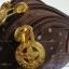 กระเป๋าถือ+สายข้อมือ Chalita wu สีน้ำตาลลายจุด thumbnail 3