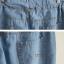กางเกงยีนส์ขายาวสม้อคเอวยางยืด พร้อมเชือกรูด thumbnail 5