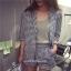 Set MiNi L O V E เสื้อสูท+กางเกง thumbnail 3