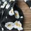 มินิเดรสเชือกรูดตรงเอว ลายดอกเดซี่ทั้งตัว thumbnail 33
