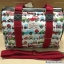กระเป๋าสะพาย Chalita wu สีขาวแดง ลายรถ thumbnail 1