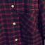 เสื้อเชิ้ตลายสก๊อต hit item เก๋ตรงที่กระเป๋าหน้า สีแดง(Red) thumbnail 7