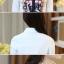 เสื้อเชิ้ต COCO'S KISS สีขาว(White) thumbnail 7