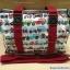 กระเป๋าสะพาย Chalita wu สีขาวแดง ลายรถ thumbnail 2