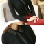 เสื้อเชิ้ตลูกไม้แต่งดิ้นเงิน สีดำ thumbnail 3