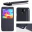 เคส Samsung Galaxy S5 Nillkin Sparkle Case - แบบฝาพับสีดำ thumbnail 8