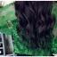 เสื้อเชิ้ตลูกไม้ผสมซีทรู สีเขียว thumbnail 7