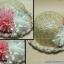 หมวกชาลีสานประดับดอกไม้ thumbnail 1