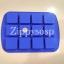 แม่พิมพ์ซิลิโคน สี่เหลี่ยม ขนาด 30 g 4*4*1.8 cm.. thumbnail 2