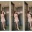 เสื้อเชิ้ตคอจีน ผ้าฝ้ายฉะลุดอกทั้งตัว พิมพ์ลายกุหลาบแสนหวาน thumbnail 5