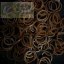 100% Silicone Loom Band สีช็อคโกแลต 600เส้น ( # 28 ) thumbnail 2
