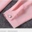 เสื้อเชิ้ตคอจีนพองแต่งกระดุมไข่มุก 3 เม็ด สีดำ thumbnail 11