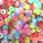 Beadsตกแต่งกำไลยาง Loom band สีพาสเทล(PB) thumbnail 2