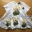 เสื้อทรงระบายตกแต่งด้วยดอกไม้ปักสุดหวาน thumbnail 18