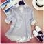 เสื้อเชิ้ตลายคว้าน V thumbnail 5