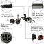 ไฟหน้า LED ขั้ว H11 Cree 2 ดวง 30W Turbo V16 thumbnail 6