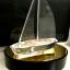 ถ้วยรางวัลอะคริลิคเรือ 3 มิติ ฐานไม้สีดำ thumbnail 1