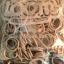 100% Silicone Loom Bands สีเทาพาสเทล 600 เส้น ( # 24 ) thumbnail 2