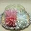หมวกชาลีสานประดับดอกไม้ thumbnail 2