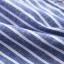เสื้อเชิ้ตยีนส์อ่อนพิมพ์ลายทาง ปักแมวโผล่กระเป๋า สีลายฟ้า thumbnail 14