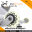 จักรยานออกกําลังกาย Spin Bike ระบบสายพาน รุ่น 884 สีเงิน thumbnail 8