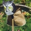 หุ่นนกฮูกจำลองบิน เคลื่อนไหวสมจริง วิธีไล่นกพิราบและนกอื่นๆ เฝ้าบ่อปลา thumbnail 3