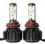 ไฟหน้า LED ขั้ว H11 Cree 2 ดวง 30W Turbo V16 thumbnail 1