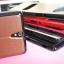 เคสฝาพับ Xperia C5 Ultra แบบ Leather Dual Windows View Flip Case thumbnail 7