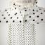 เสื้อคอจีนระบาย ลายดอท สีขาว thumbnail 9