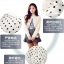 เสื้อคอจีนระบาย ลายดอท สีขาว thumbnail 8