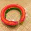 100% ซิลิโคน Loom Band Glow in the dark / Orange 600 เส้น (GO) thumbnail 2